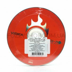 Диски CD-R Videx bulk 10