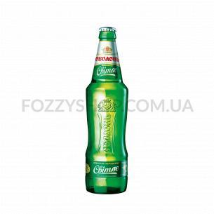 Пиво Оболонь Светлое с/б