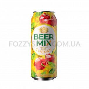 "Пиво ""Оболонь Beermix"" вишня"