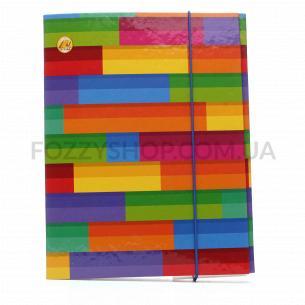 Папка для зошитів Тетрада А5 на гумці