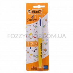 Ручка BIC Messages 4 Colours