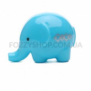 Точилка для карандашей ZiBi Слон с контейнером в ассортименте