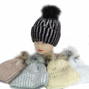 Шапка для дівчинки Kraft + зима 1569