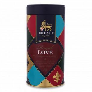 Чай черный Richard Royal Love байховый ж/б