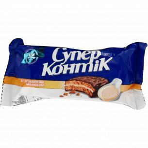 Печенье Супер-Контик со сгущенным молоком