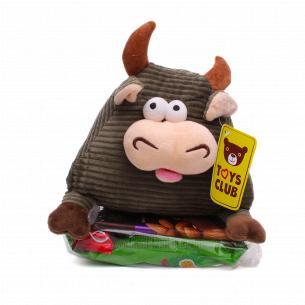 Подарок новогодний №6Ф Веселый бык