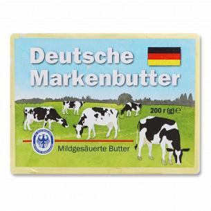 Масло солодковершкове Deutsche Markenbutter німецьке 82%