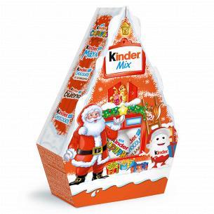 Подарочный набор Kinder Mix Новогодний дом