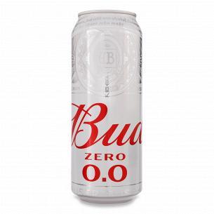 Пиво Bud Zero 0.0 светлое безалкогольное ж/б