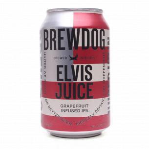 Пиво BrewDog Elvis Juice янтарное ж/б