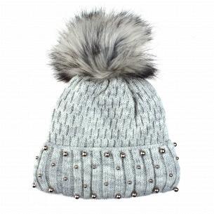 Шапка для дівчинки Kraft+ зима 1508