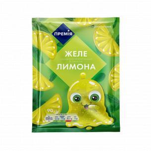 Желе Премія со вкусом лимона