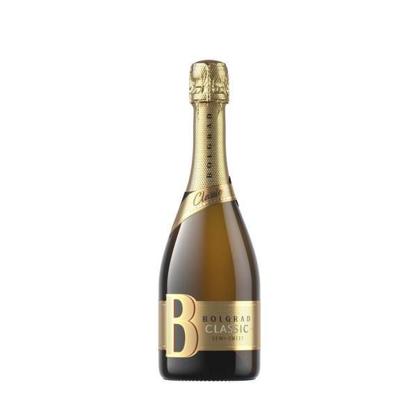 Шампанское Bolgrad белое полусладкое