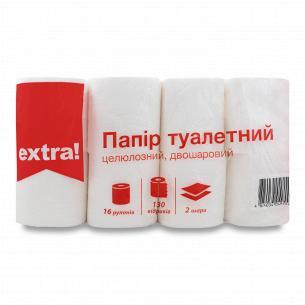 Бумага туалетная Extra!...