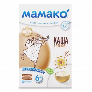 Каша 5 злаков Мамако на козьем молоке