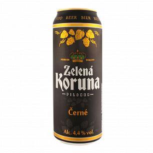 Пиво Zelena Koruna Cerne...