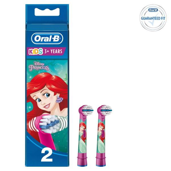 Сменные насадки для Зубной Щетки Oral-B С Диснеевскими Персонажами, 2 шт