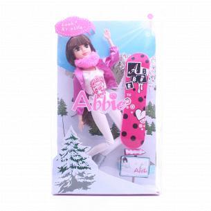 Лялька на сноуборді D1