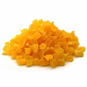 Цукати ананас кубик