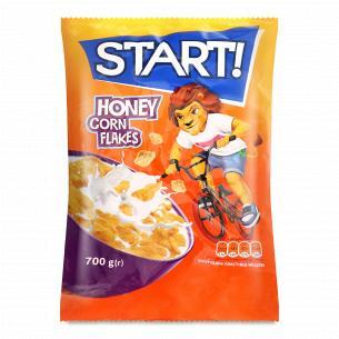 Пластівці Start кукурудзяні медові