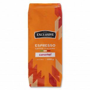 Кофе зерно Primo Exclusive Caramel жареный