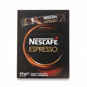 Кава розчинна Nescafe Espresso порошкоподібна