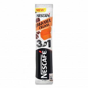 Напій кавовий Nescafe з карамеллю 3в1 розчинний