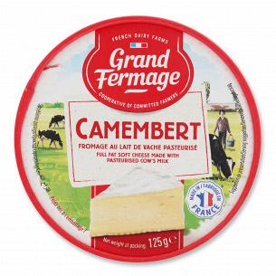 Сир Grand Fermage Камамбер 60% з коров`ячого молока