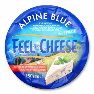 Сир Feel the Cheese Alpine Blu 50% з коров`ячого молока