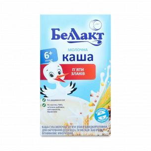 Каша 5 злаків Беллакт молочна суха
