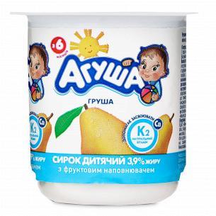 Сирок Агуша дитячий груша 3,9%
