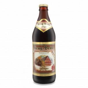 Пиво Krug-Brau Lager темное