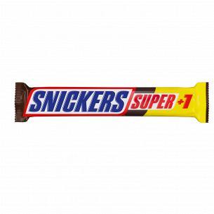 Батончик Snickers Super з...