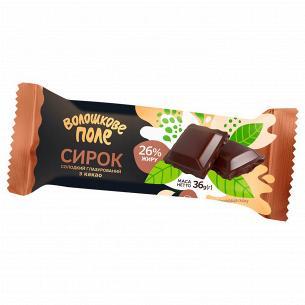 """Сырок глазированый """"Волошкове Поле"""" с какао 26%"""