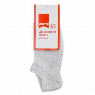 Шкарпетки жіночі Extra! сітка чешка меланж р.23-25