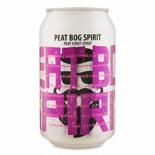 Пиво Beermaster Brew Peat bog Spirit темное нефильтрованное ж/б