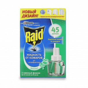 Рідина для фумігатора Raid Евкаліпт від комарів, 45 ночей