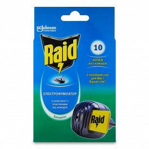 Електрофумігаторів від комарів Raid Евкаліпт з пластинами