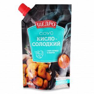 Соус Щедро Кисло-солодкий д/п