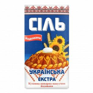 """Соль """"Слов`янська"""" йодированная"""
