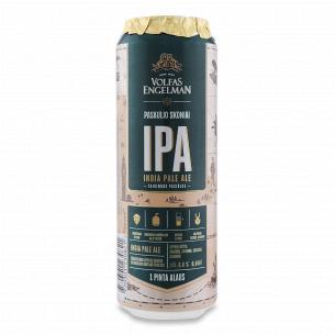 Пиво Volfas Engelman IPA янтарное ж/б