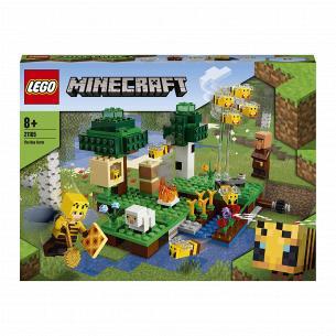 Конструктор Lego Minecraft Пчелинная ферма 21165