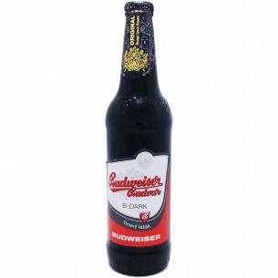 Пиво Budweiser темное