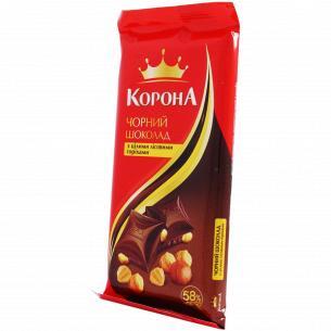 Шоколад Корона чорний з...
