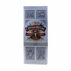 Виски Chivas Regal 12 лет в коробке