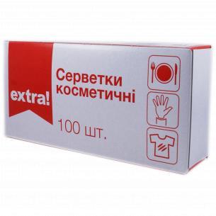 Салфетки Extra! универсальные 2-слойные в коробке