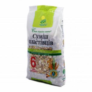 Смесь хлопьев Терра Геркулес 6 видов зерновых