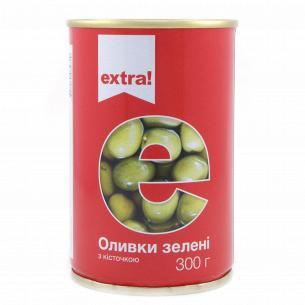 Оливки Extra! зелені з...