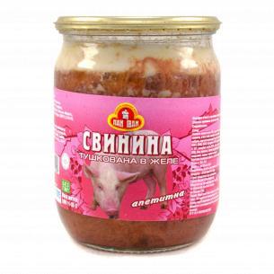 Свинина Агрофирма Столичная Аппетитная в желе