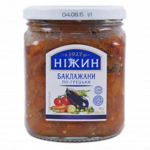 """Баклажаны """"Ніжин"""" По-гречески в оливковом масле"""